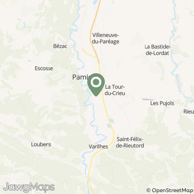 localisation de Brasserie Galemys