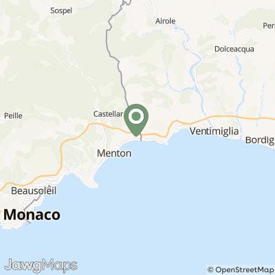 localisation de LA MENTOUNASC