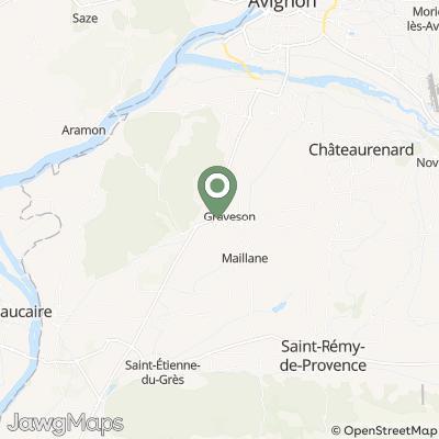 localisation de Les Alambics du Cèdre