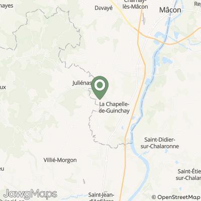 localisation de Château des Jean Loron