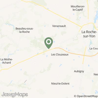 localisation de Brasserie Des Chats Noirs
