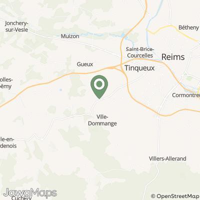 localisation de CHAMPAGNE FREDERIC THIEBAULT